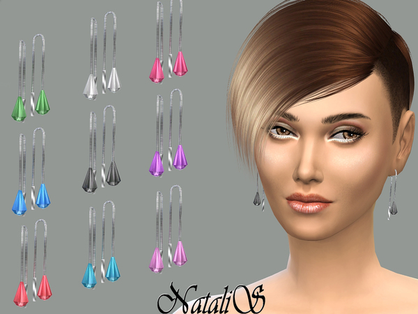 NataliS_Crystal drop earrings FT-FA