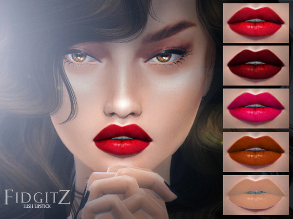 Lush Lips by Fidgitz