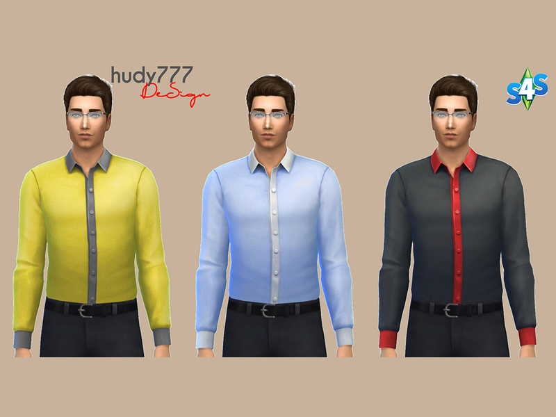 Two Color Shirt Collection BY hudy777-design