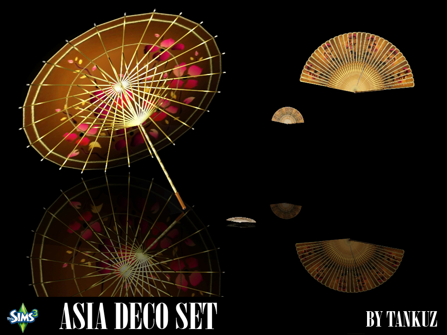 Asia Deco Set by Tankuz