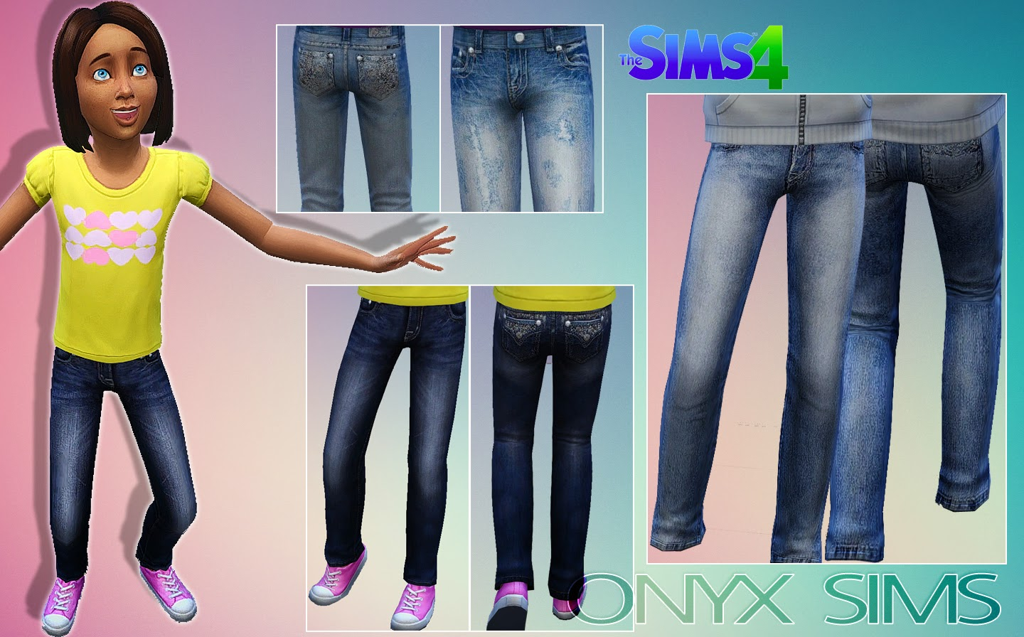 CF Jean Collection No.1 by Onyx Sims