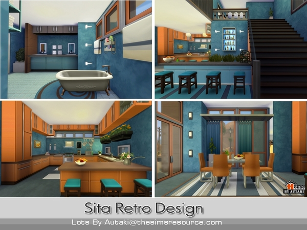 Sita Retro Design by autaki