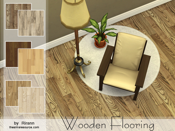 Wooden Flooring by Rirann
