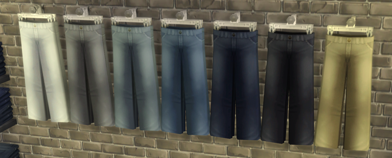 Jeans Retailer Set by Vicarious Living