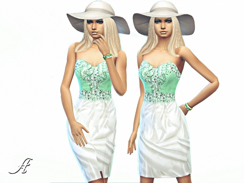 Rich Mint Dress BY Apathie