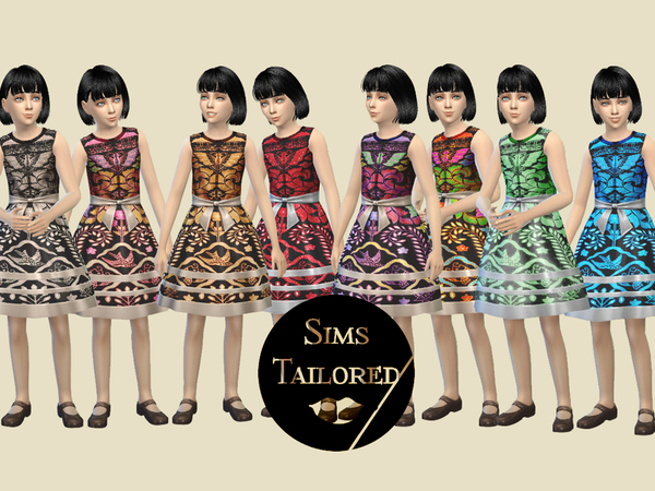 [SIMSTAILORED] Indonesian Batik Dress Child by syafickix21