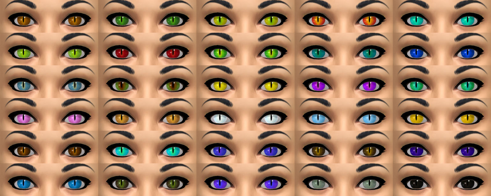 Gothelittle Rose's Cat Eyes by Gothelittle