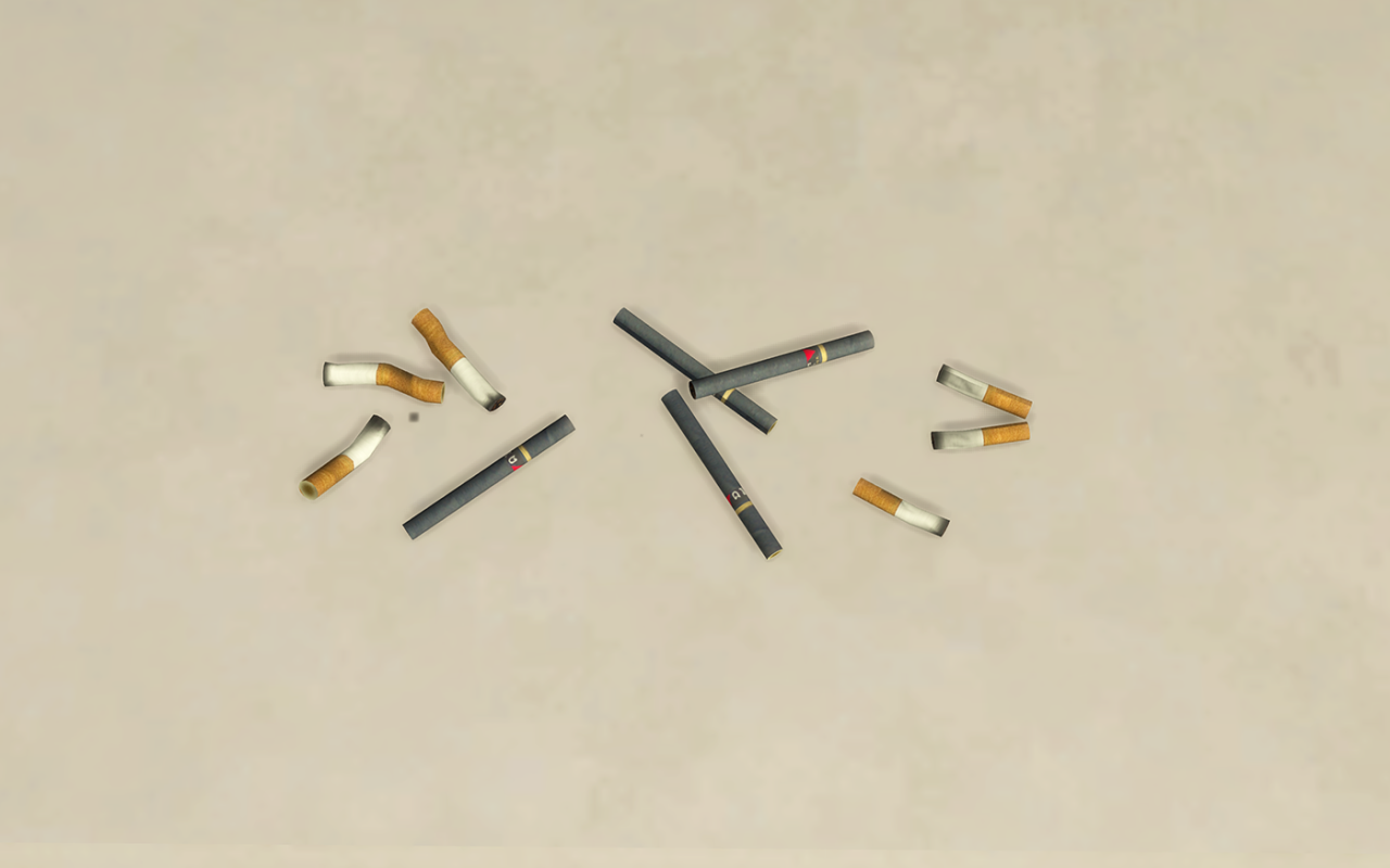 Smoking Clutter by SimsPlex