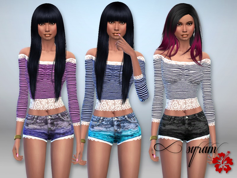 Madeline Lace outfits Set  BY EsyraM