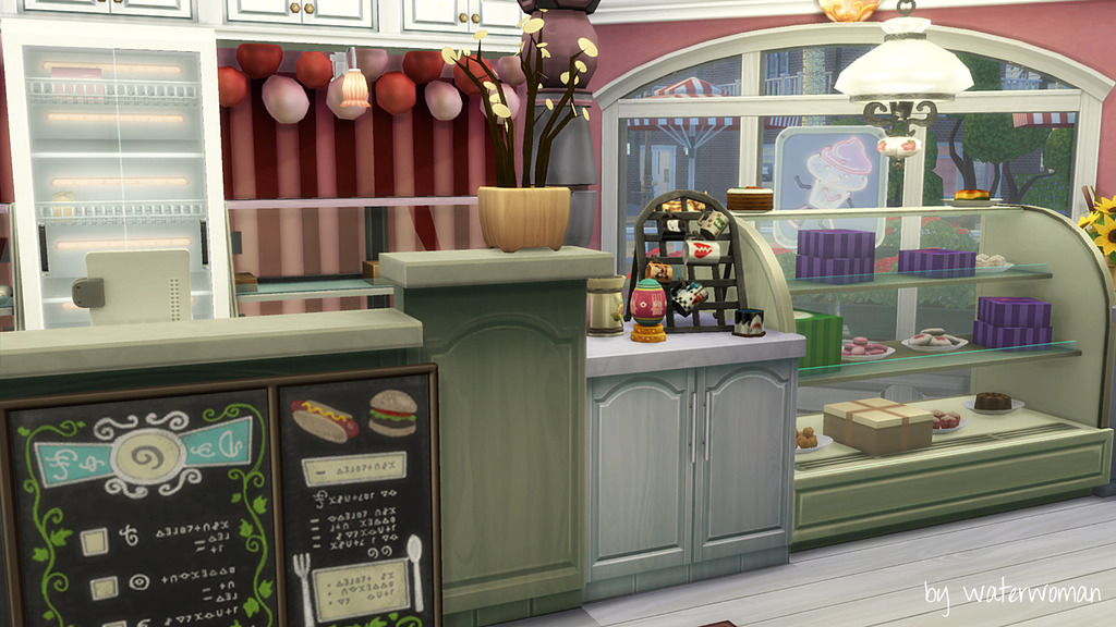 Akisima  Houses and Lots, Store / Shop : The Cupcake Shop by Waterwoman