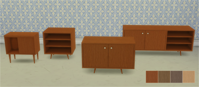 Back to Retro Cabinets by Veranka