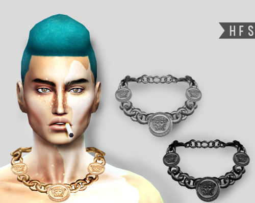 VERSACE NECKLACE (MALE VERSION) by HAUT FASHION SIMS