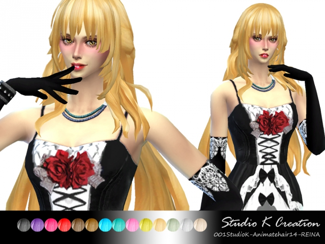 Reina Hair for Females by Karzalee