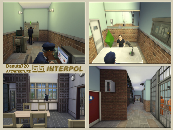 INTERPOL - Police Station by Danuta720