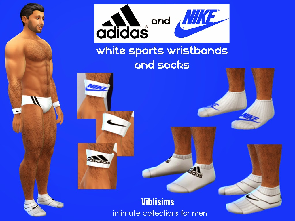 Sports Wristbands and Socks ADIDAS and NIKE by ciaolatino38