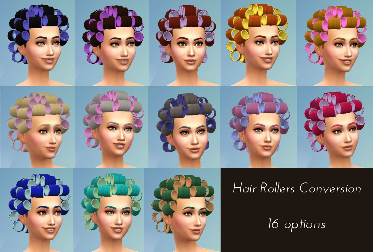 Hair Rollers Conversion by Kiara24