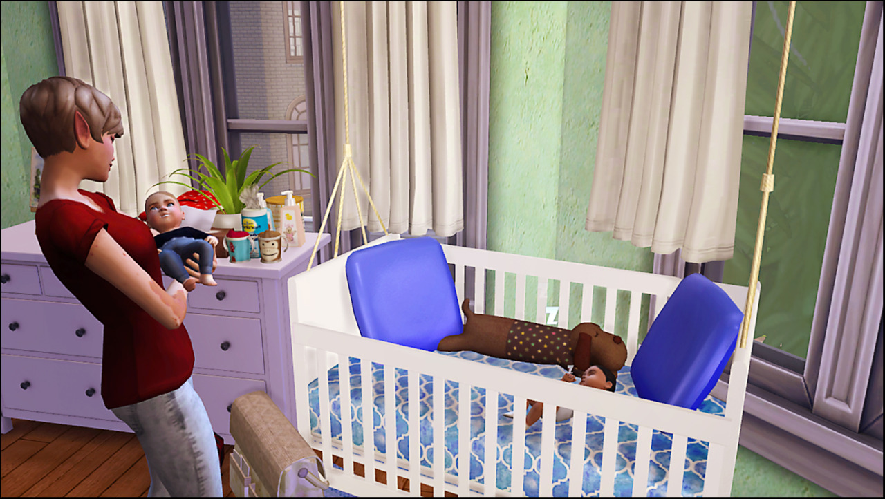 TS3 Hanging Crib Conversion by Dri4na