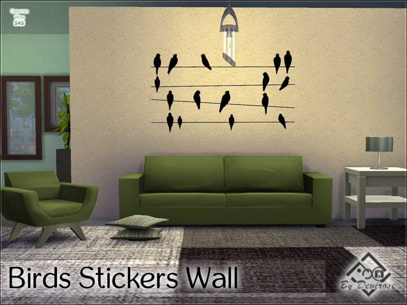 Birds Stickers Wall BY Devirose