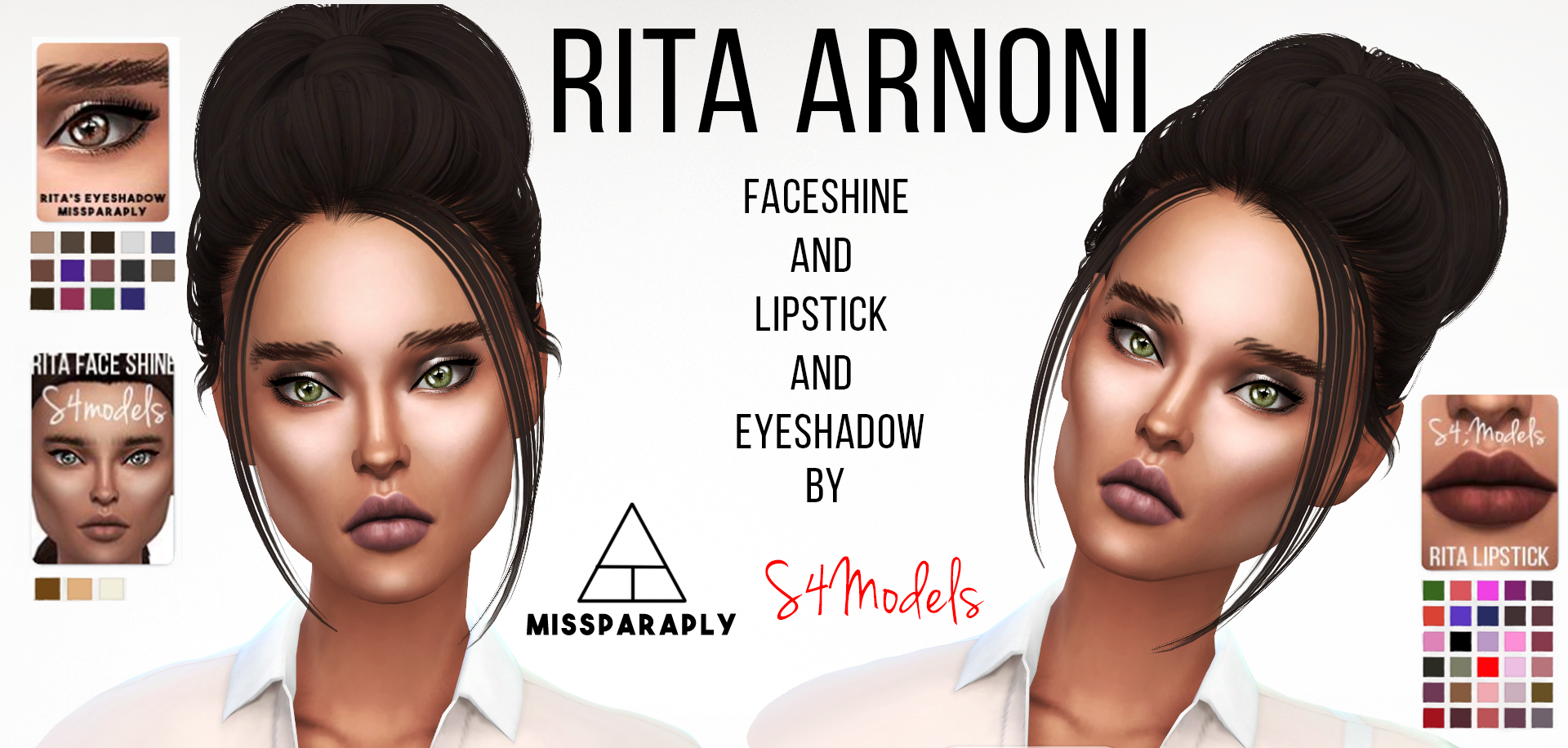 Rita Lipstick and FaceShine от S4Models
