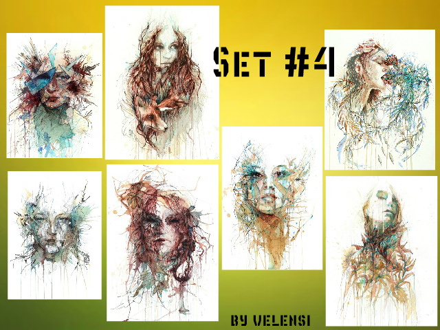 "Set #4 ""Individuality"" by velensi"