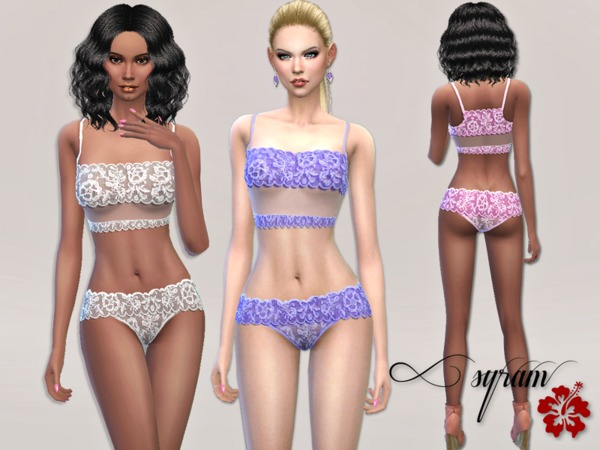 Lingerie Brazilian Lace Set by EsyraM