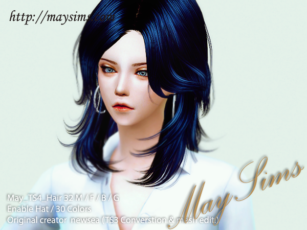 Sims 4 Request Hair 32M/F/B/G by May Sims