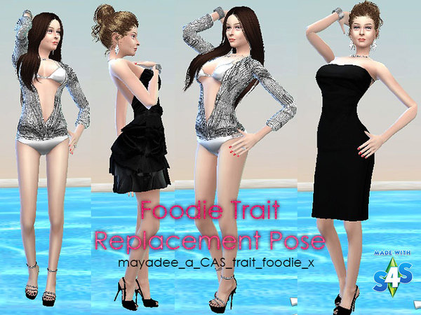 CAS Pose replacement for Foodie Trait by mayadee