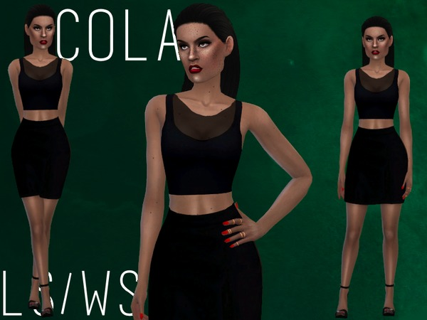 COLA [SET] by Witch-Sims