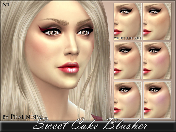 Sweet Cake Blusher by Pralinesims