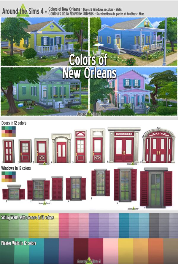 Colors of New Orleans Build Set by Sandy