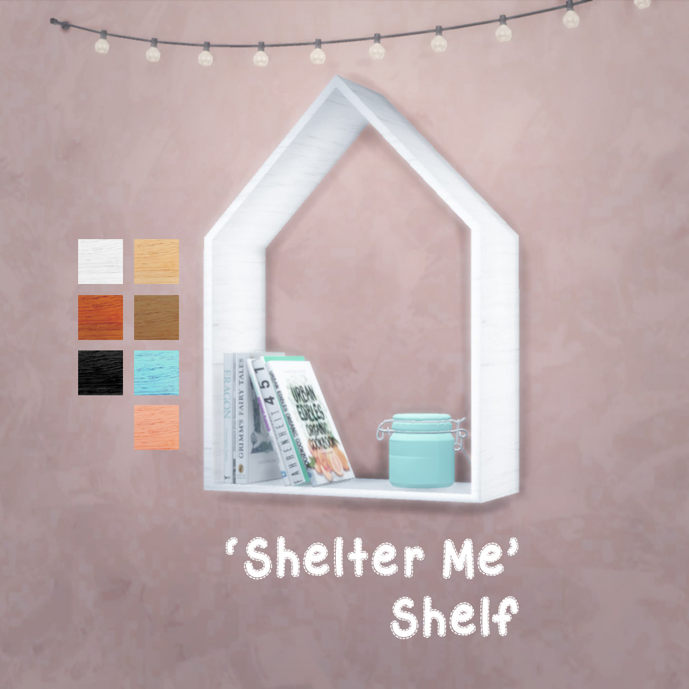 Shelter Me Shelf by Reivan13Sims