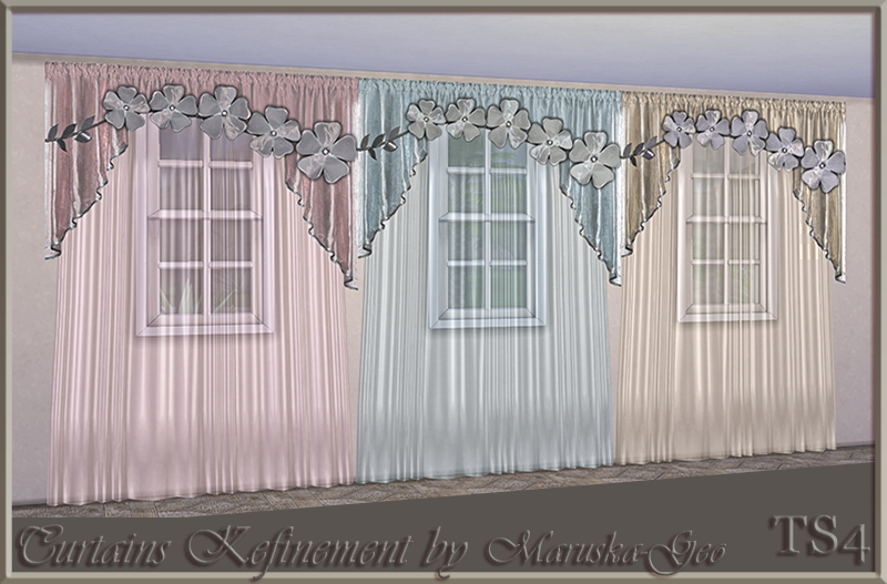 "Curtains ""Refinement"" by Maruska-Geo"