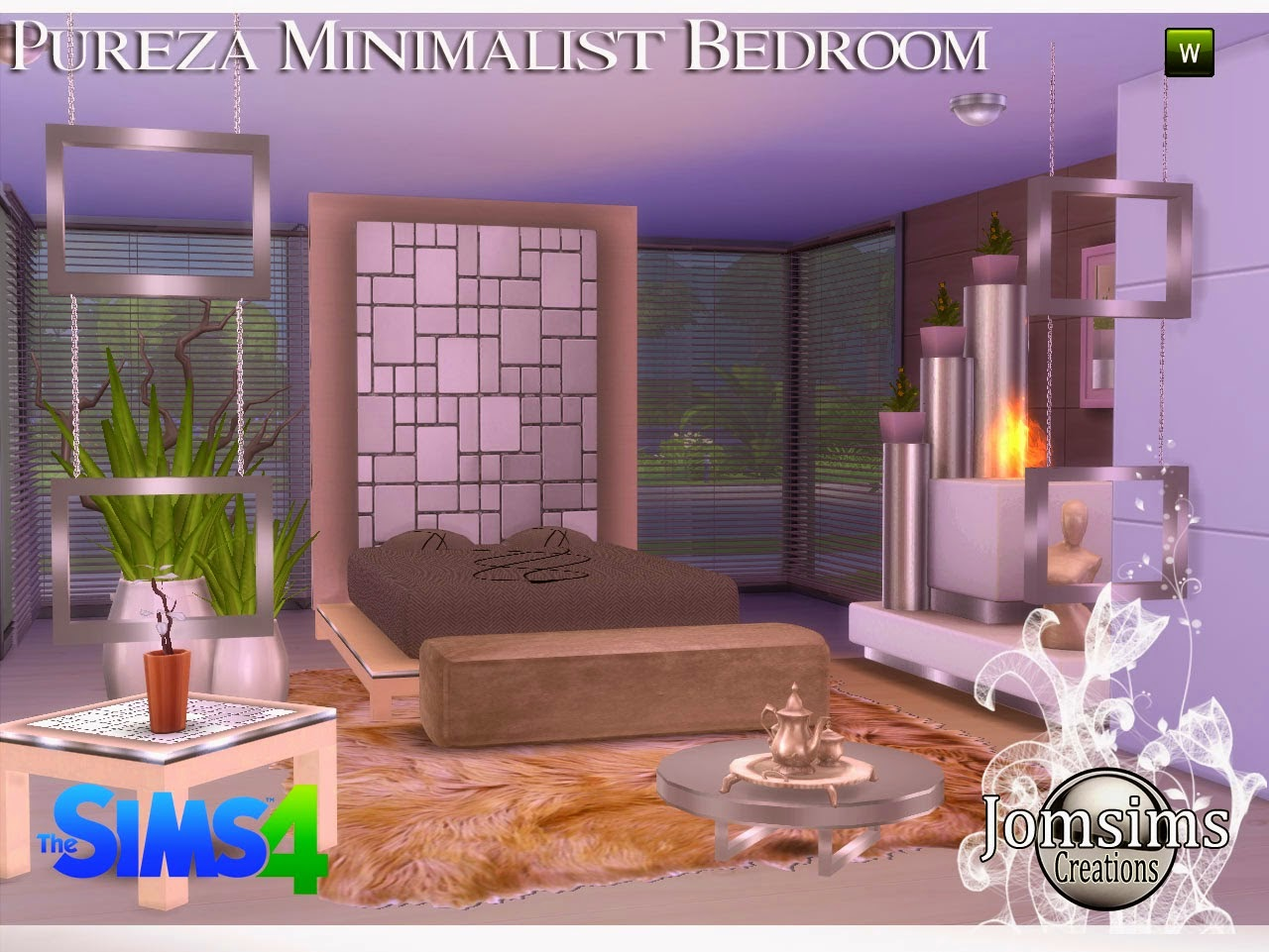 Pureza Minimalist Bedroom Set by JomSims