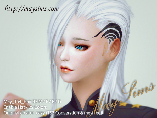 Hair33M/F/B/G by May Sims