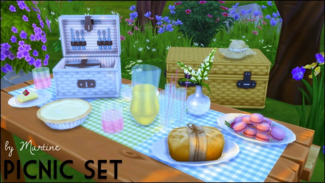 Picnic Set by Martine