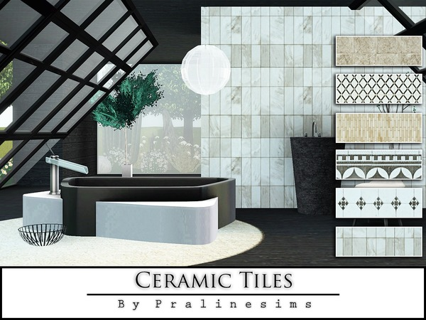 Ceramic Tiles by Pralinesims