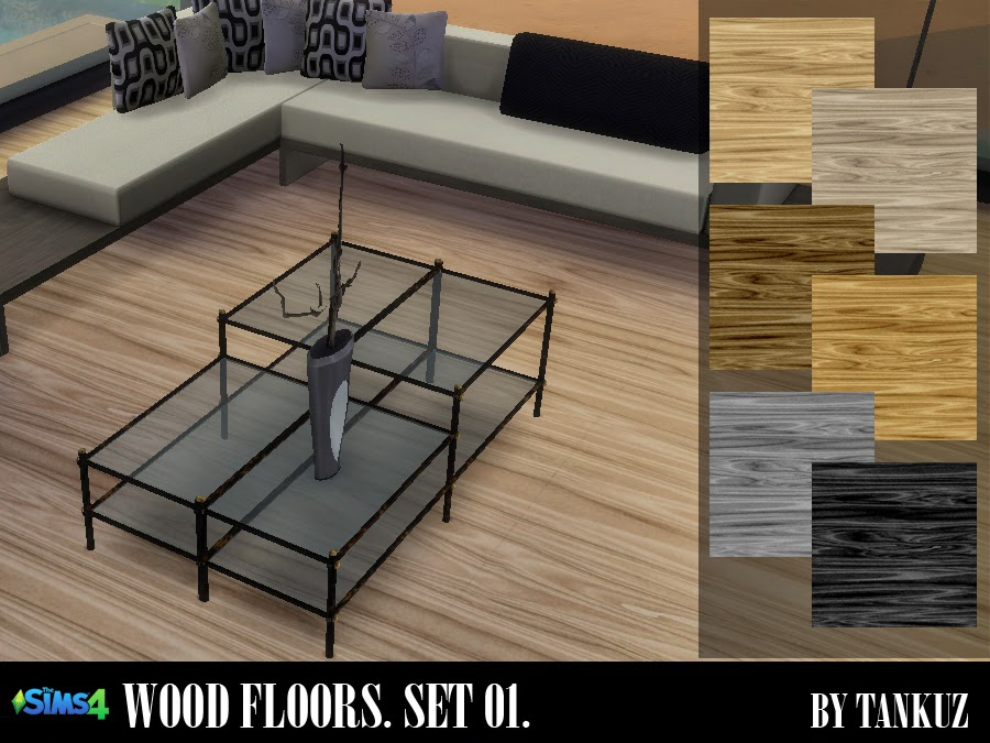 Wood Floors (Set 01) by Tankuz
