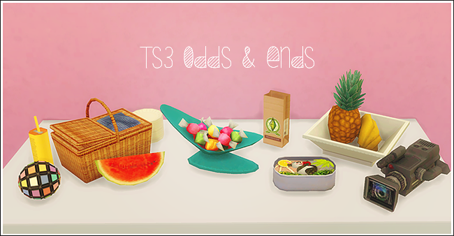 TS3 Odds & Ends от LinaCherie