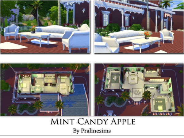 Mint Candy Apple by Pralinesims