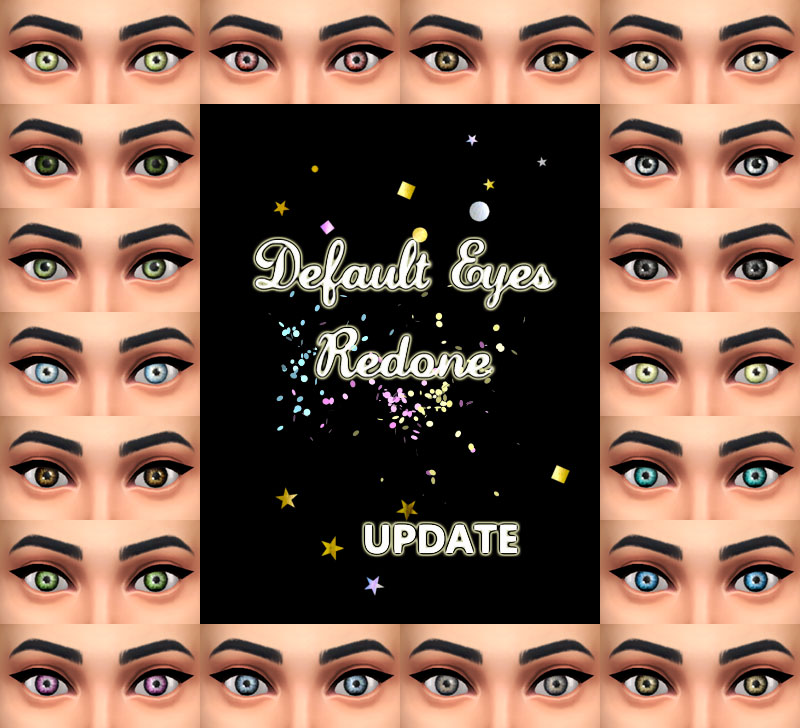 All Default Eyes Redone by Simalicious
