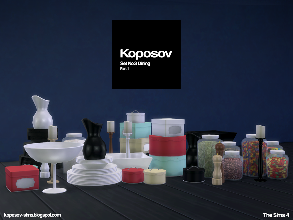 Kitchen / Dining Clutter by Koposov