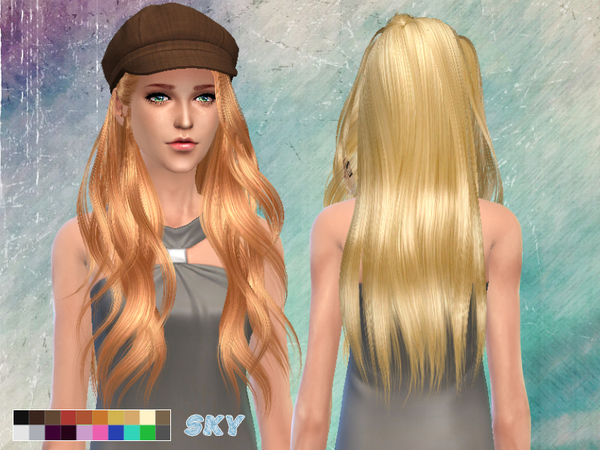 Skysims Hair 262