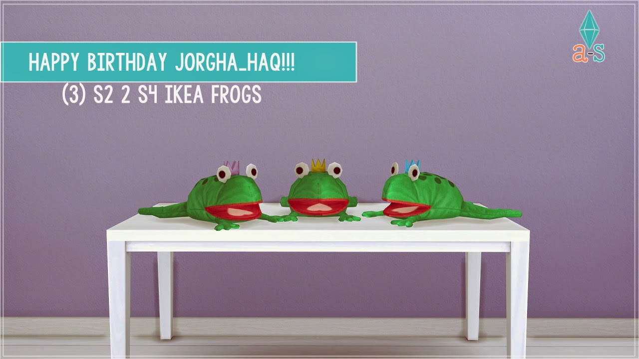 IKEA Frogs by Ajoya