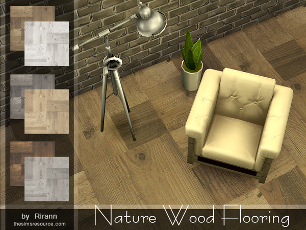 Nature Wood Flooring by Rirann