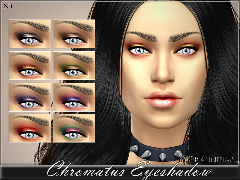 Chromatus Eyeshadow BY Pralinesims
