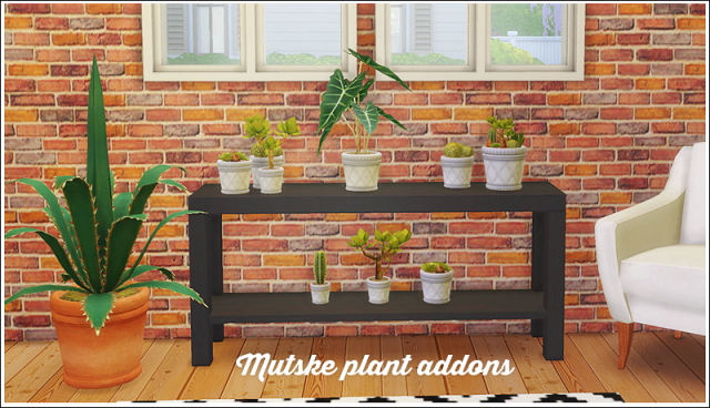 Mutske plant addons - 8 conversions by LinaCherie