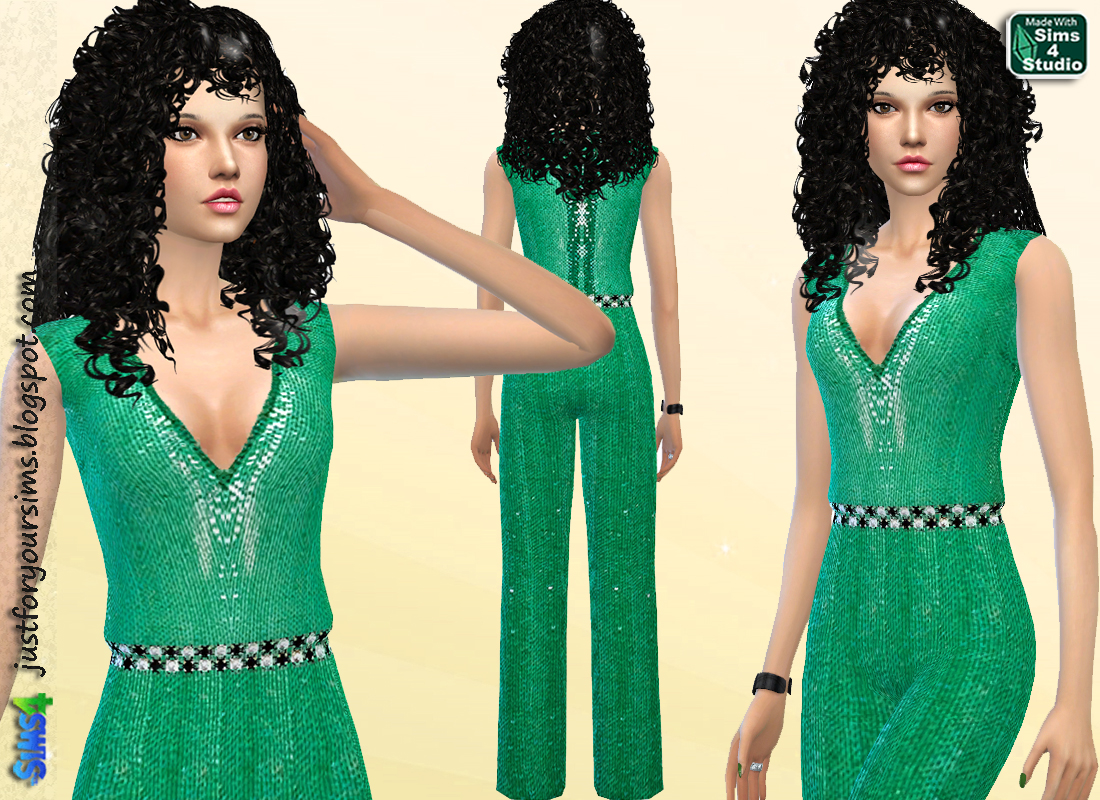Sequin Jumpsuit by Just For Your Sims