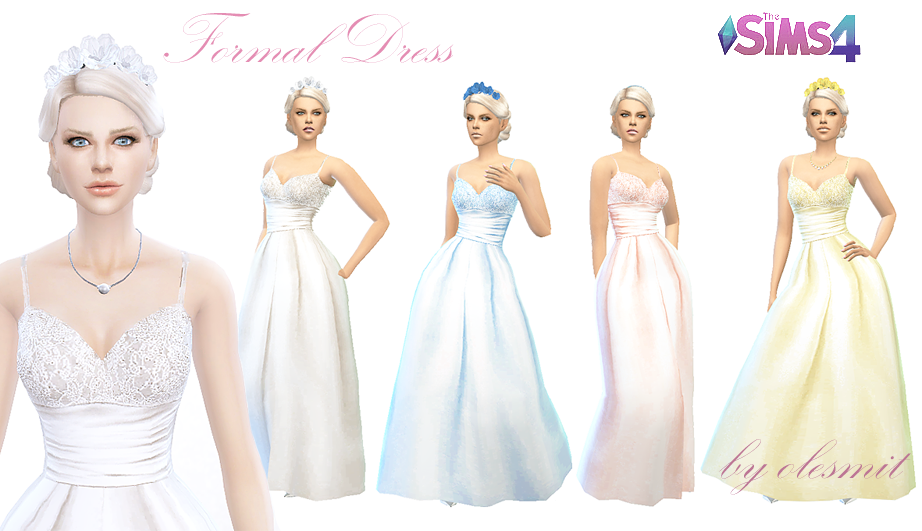 Formal Dress by OleSims