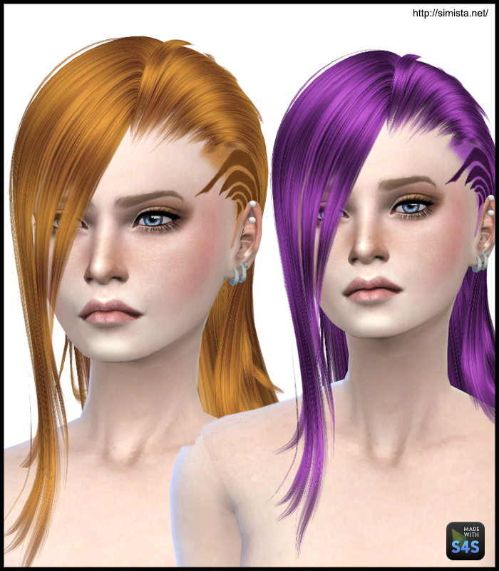 MaySims 33 Hair Retexture by Simista