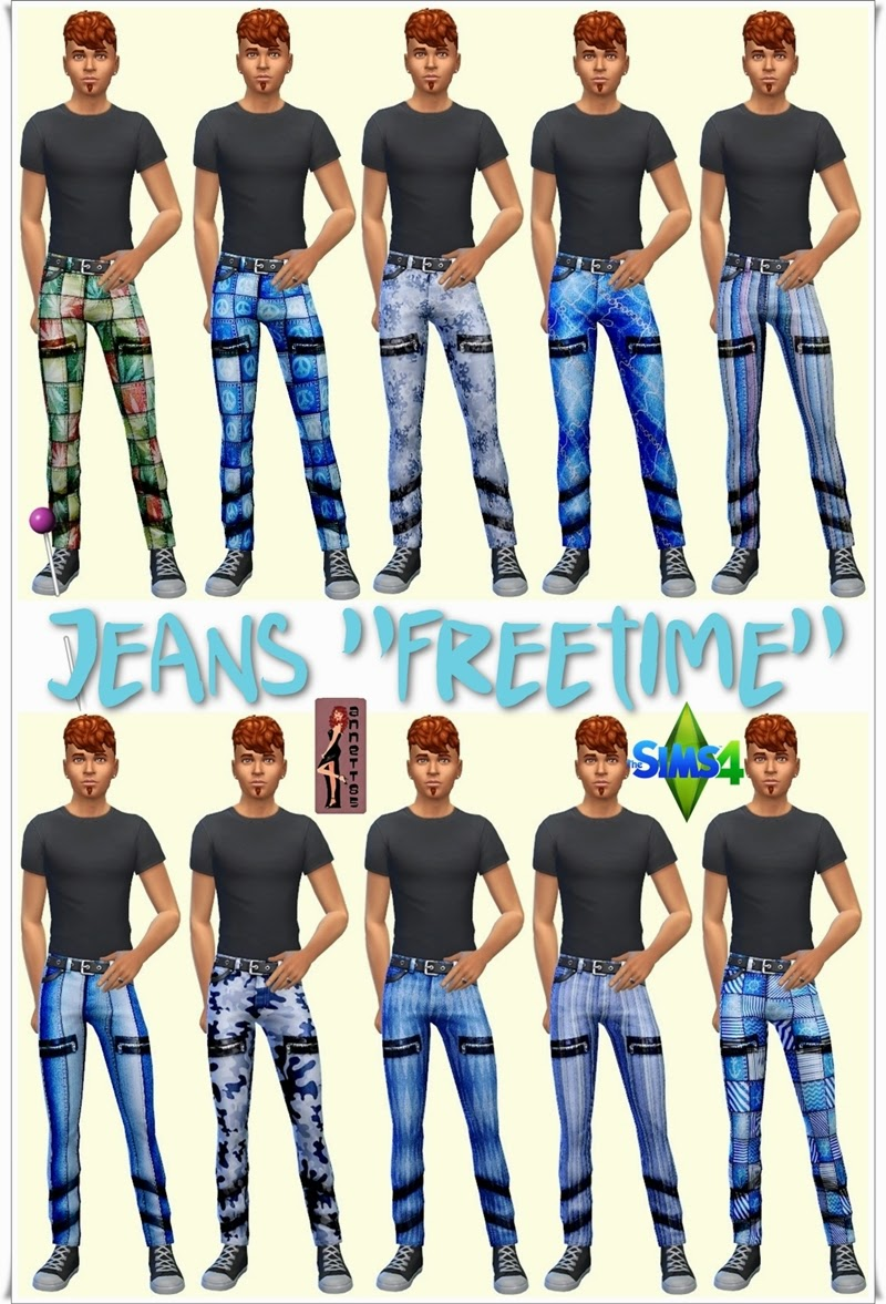 "Jeans ""Freetime"" for Men by Annett85"